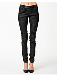 Filippa K Waxed Zip Jeans
