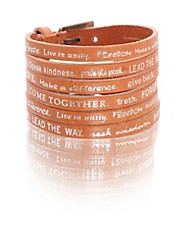 Humanity - Word Double Bracelet