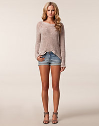 Filippa K - Niki Low Lt Mud Wash Shorts