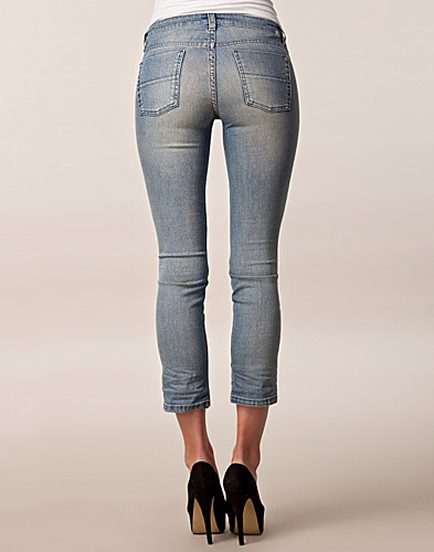JEANS - FILIPPA K / NIKI LOW LT MUD WASH ANCLE JEANS - NELLY.COM