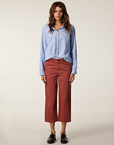 BYXOR & SHORTS - FILIPPA K / FRANKIE COTTON PANTS - NELLY.COM