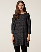 TWEED LUREX KNIT TOP
