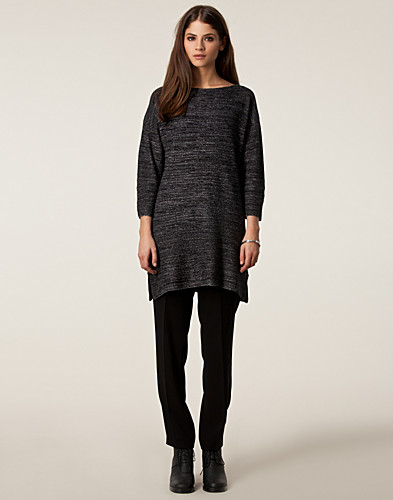TOPPAR - FILIPPA K / TWEED LUREX KNIT TOP - NELLY.COM