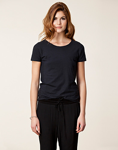 TOPPAR - FILIPPA K / COTTON FLAMÉ T-SHIRT - NELLY.COM