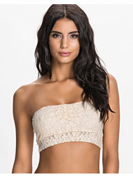 Pieces Netti Lace Tube Bra