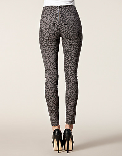 BYXOR & SHORTS - PIECES / FUNKY RUBY HIGHWAIST LEGGINGS - NELLY.COM