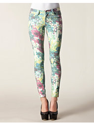 Pieces Funky Poppy Delux Legging