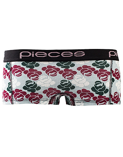 BRIEFS - PIECES / LOGO LADY BOXERS PRINT - NELLY.COM