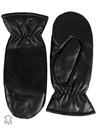 Pieces Emira Leather Mittens