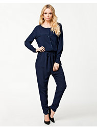 Pieces Agnes Long Jumpsuit