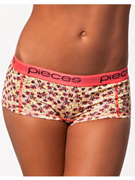 Pieces Flower Logo Lady Boxers