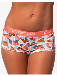 Pieces Graphic Logo Lady Boxers