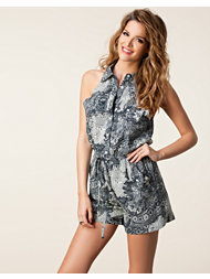 Fount Halter Neck Playsuit