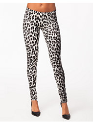 Pieces Gamma Leopard Dripping Leggings