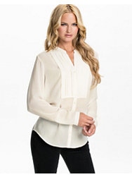 Filippa K Crepe Pleat Blouse