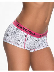 Pieces Logo Lady Boxers Floral