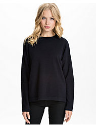 Filippa K R-neck Wool Pullover