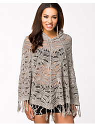 Object Fria Knit Poncho