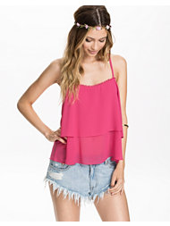 The Style Cami Frill Top