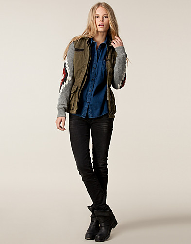 JASSEN - MAISON SCOTCH / ARMY INSPIRED JACKET - NELLY.COM