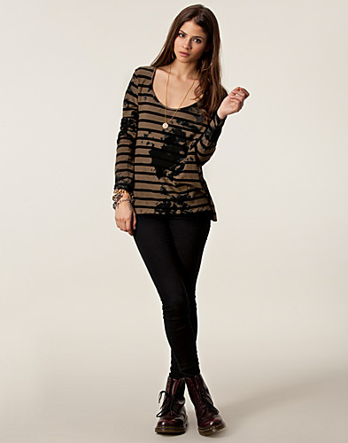 TRÖJOR - MAISON SCOTCH / BASIC A-LINE JERSEY - NELLY.COM