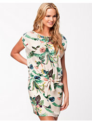 Maison Scotch Botanical Print Dress