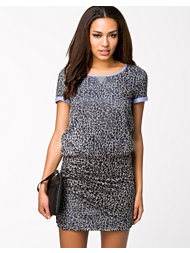 Maison Scotch Burn-out Jersey Dress