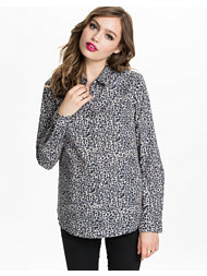 Maison Scotch Animal Print Shirt