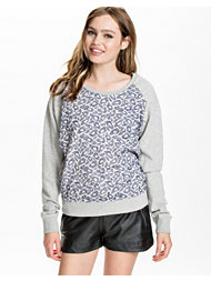 Maison Scotch Embrioded Mesh Sweater