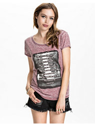 Maison Scotch Burnout Tee
