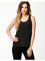 Ax Paris Jewel Neck Top
