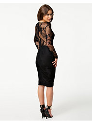 Ax Paris V Front Lace Back Dress