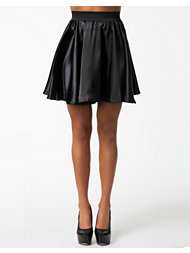 Ax Paris Satin Look Skirt