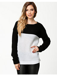 Ax Paris Monochrome Knit Jumper