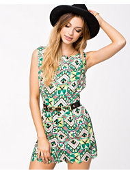 Ax Paris Butterfly Print Playsuit