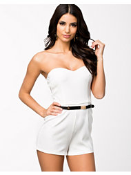 Ax Paris Off The Shoulder Playsuit