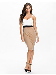 Ax Paris String Contrast Bodycon Dress