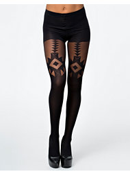 Pretty Polly Ethno-Geo Navajo Tights