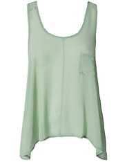 Mintgroene top Club L