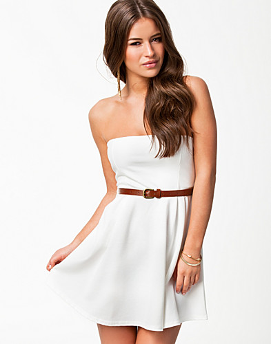PARTY DRESSES - CLUB L / LIZA BANDEAU DRESS - NELLY.COM