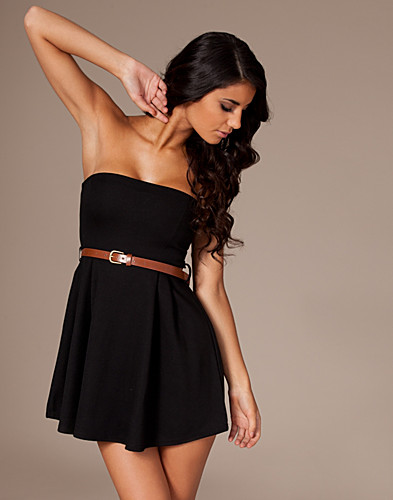JUHLAMEKOT - CLUB L / LIZA BANDEAU DRESS - NELLY.COM