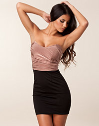 Club L - Detail Bandeau Dress