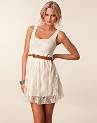 Club L - Lace Belt Dress