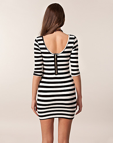 DRESSES - CLUB L / STRIPE DETAIL DRESS - NELLY.COM