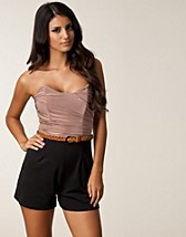 BANDEAU BELT PLAYSUIT