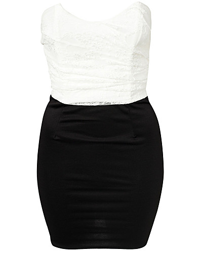 JUHLAMEKOT - CLUB L / LACE UPPER BANDEAU DRESS - NELLY.COM