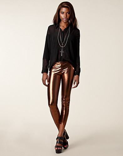 LEGGINGS - CLUB L / METALLIC LEGGINGS - NELLY.COM