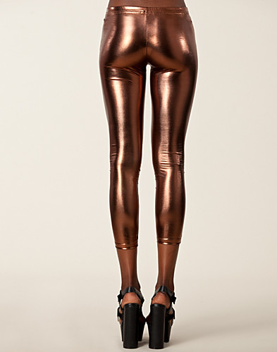 LEGGINGSIT - CLUB L / METALLIC LEGGINGS - NELLY.COM