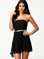 Club L Liza Bandeau Chiffon Dress