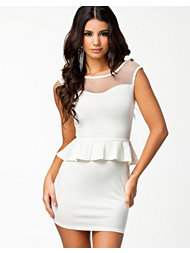 Club L Gina Peplum Dress
